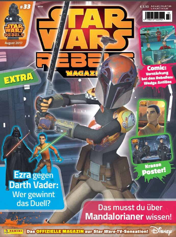 Star Wars Rebels Magazin 33 (Germany)