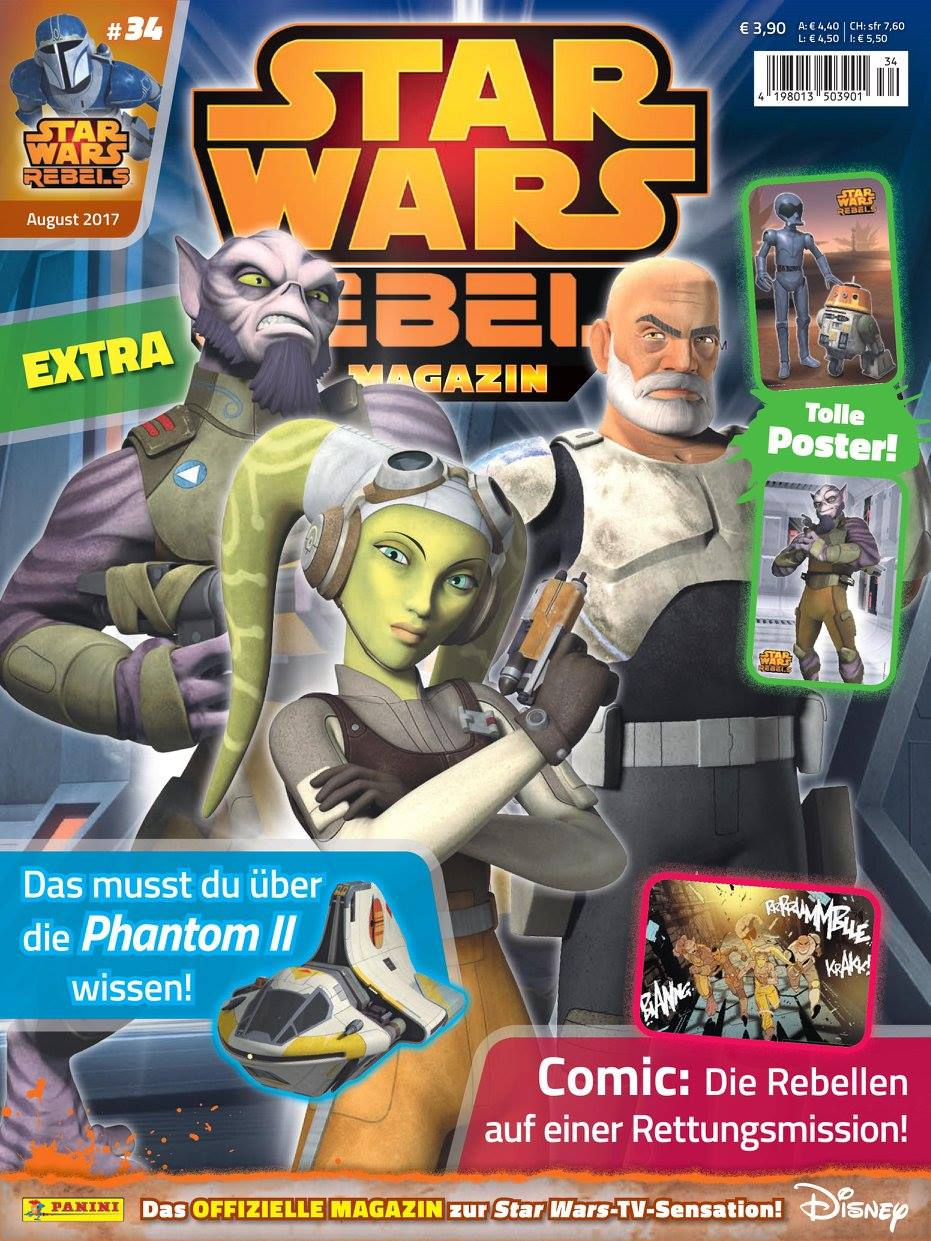 Star Wars Rebels Magazin 34 (Germany)