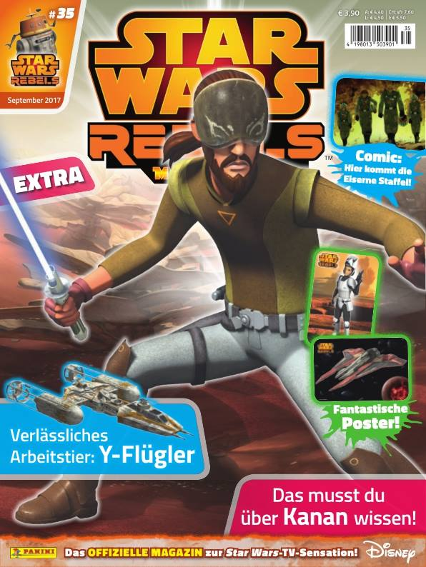 Star Wars Rebels Magazin 35 (Germany)
