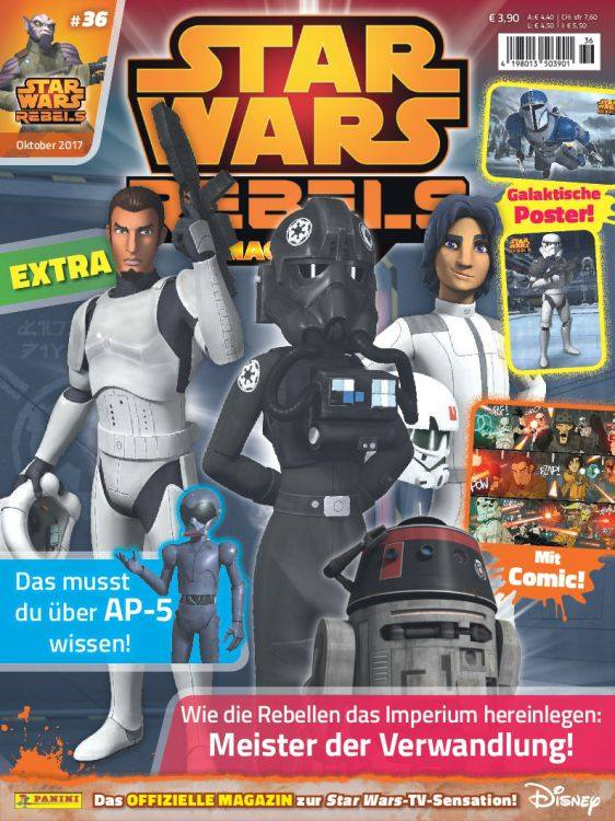 Star Wars Rebels Magazin 36 (Germany)