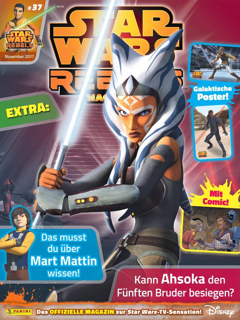 Star Wars Rebels Magazin 37 (Germany)