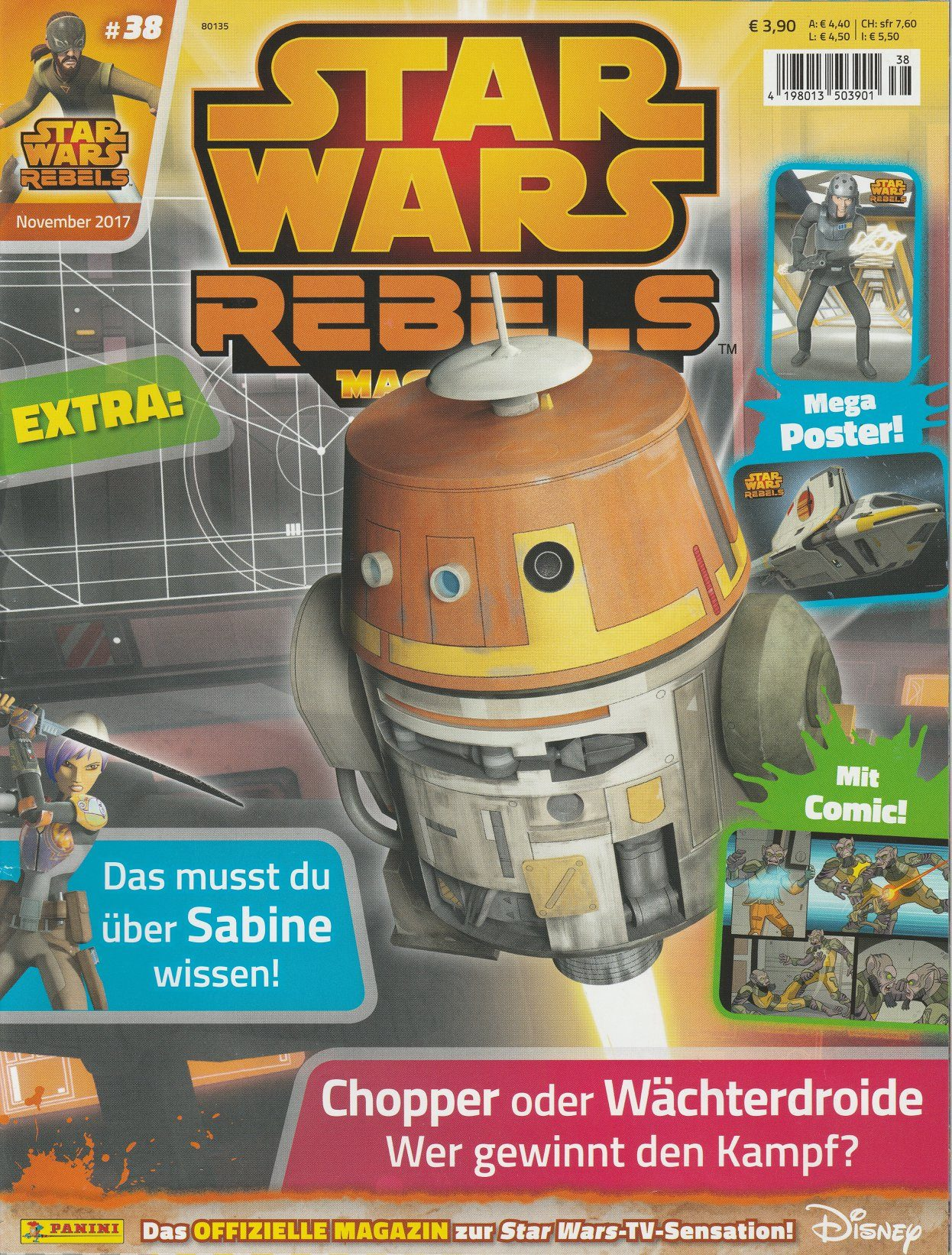 Star Wars Rebels Magazin 38 (Germany)
