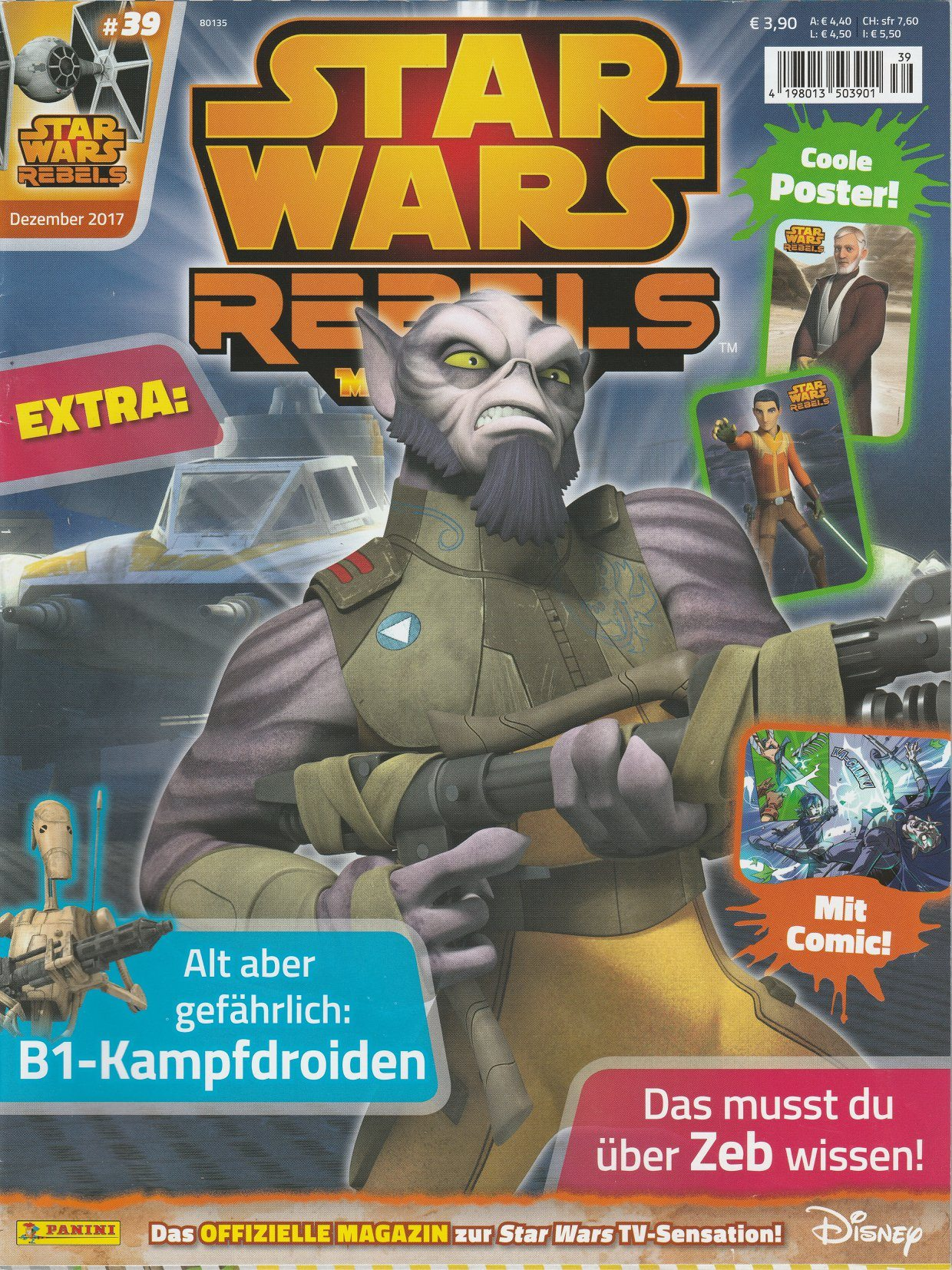 Star Wars Rebels Magazin 39 (Germany)