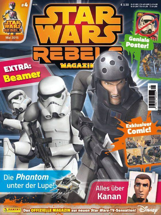 Star Wars Rebels Magazin 4 (Germany)