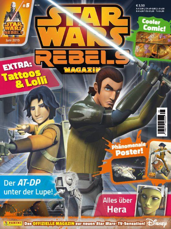 Star Wars Rebels Magazin 5 (Germany)