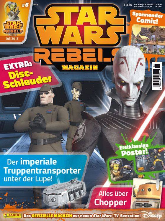 Star Wars Rebels Magazin 6 (Germany)