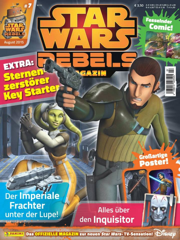 Star Wars Rebels Magazin 7 (Germany)