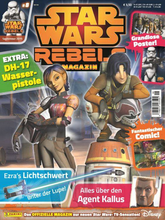 Star Wars Rebels Magazin 8 (Germany)