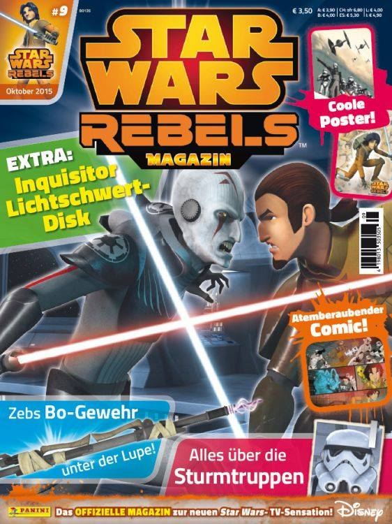 Star Wars Rebels Magazin 9 (Germany)