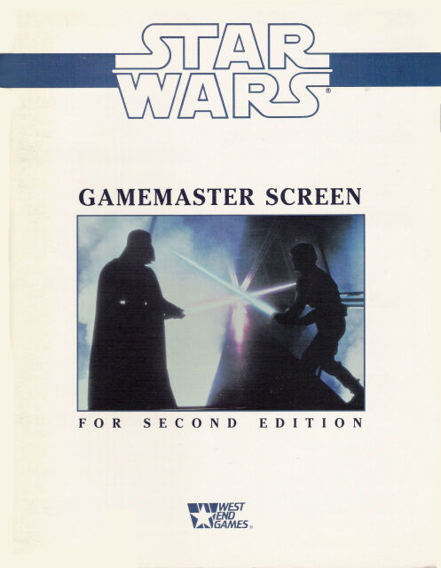 Star Wars Gamemaster Screen