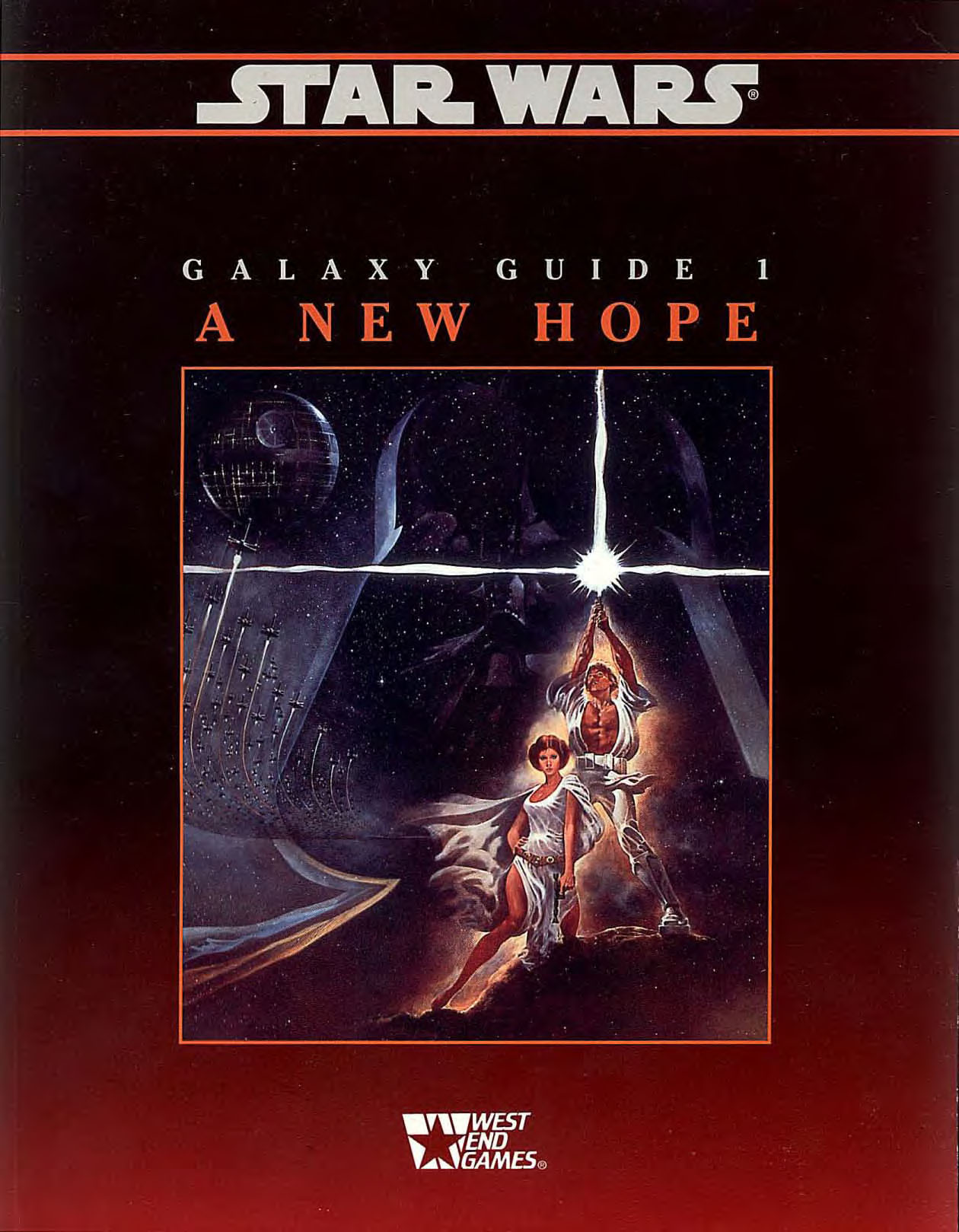 Star Wars Galaxy Guide 1: A New Hope Second Edition