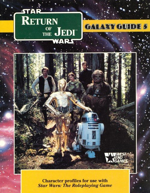 Star Wars Galaxy Guide 5: Return of the Jedi