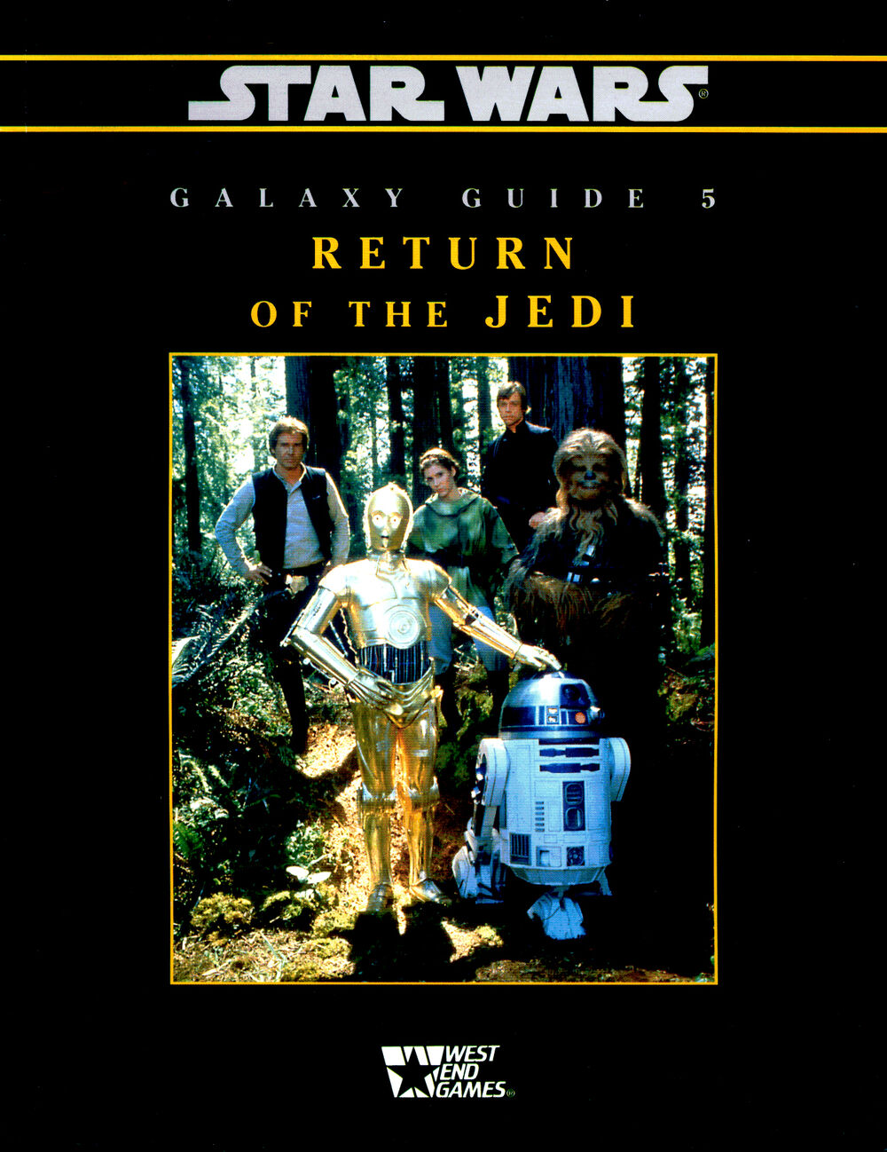 Star Wars Galaxy Guide 5: Return of the Jedi Second Edition