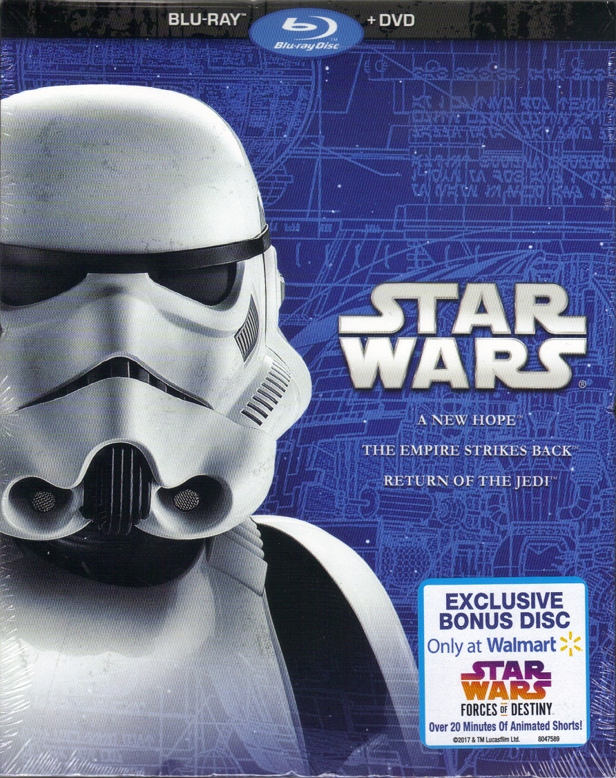 Star Wars Original Trilogy Walmart Exclusive (2017)