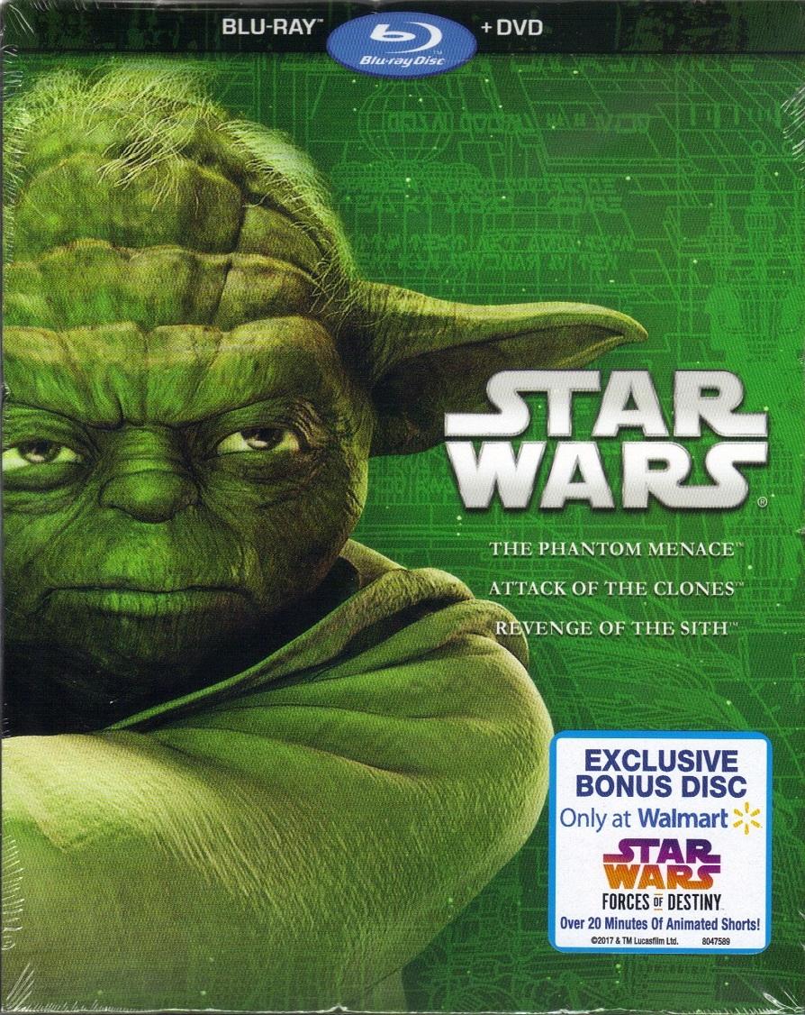 Star Wars Prequel Trilogy Walmart Exclusive (2017)