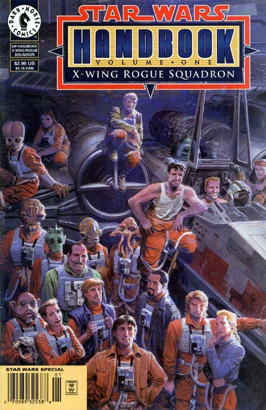 Star Wars Handbook Volume I: X-Wing Rogue Squadron