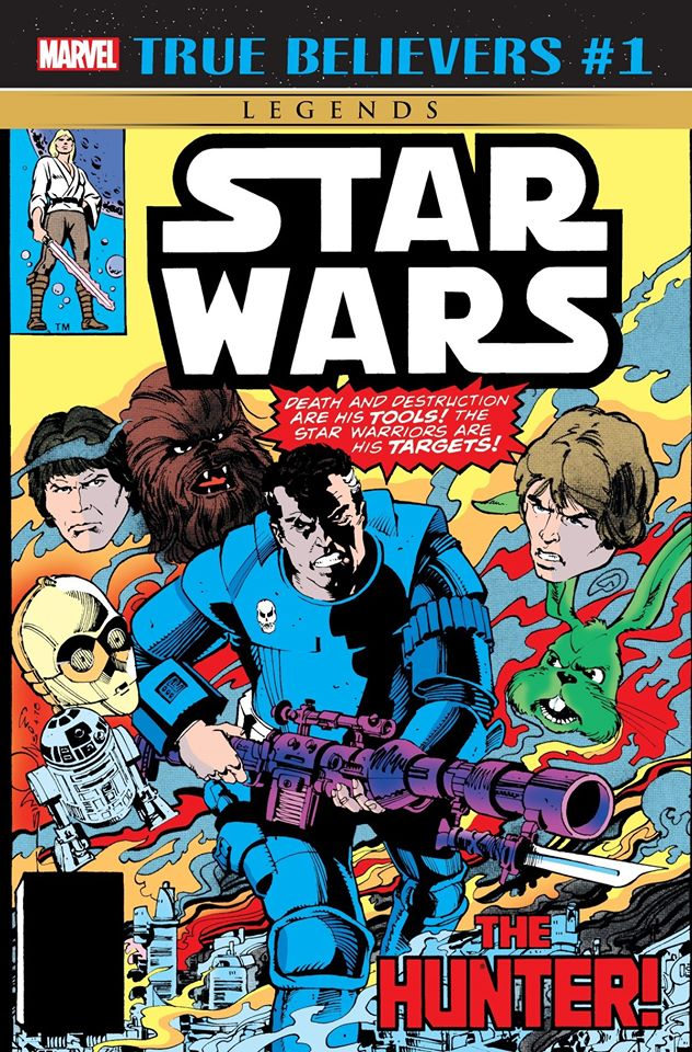 Star Wars The Hunter (True Believers)