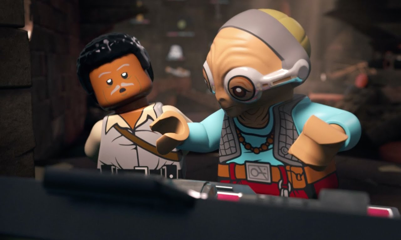 Lego Star Wars The Resistance Rises: Hunting for Han