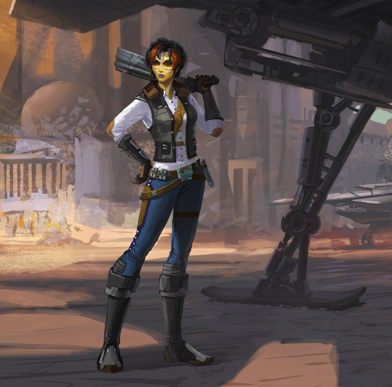 Star Wars The Old Republic: Smuggler's Vanguard