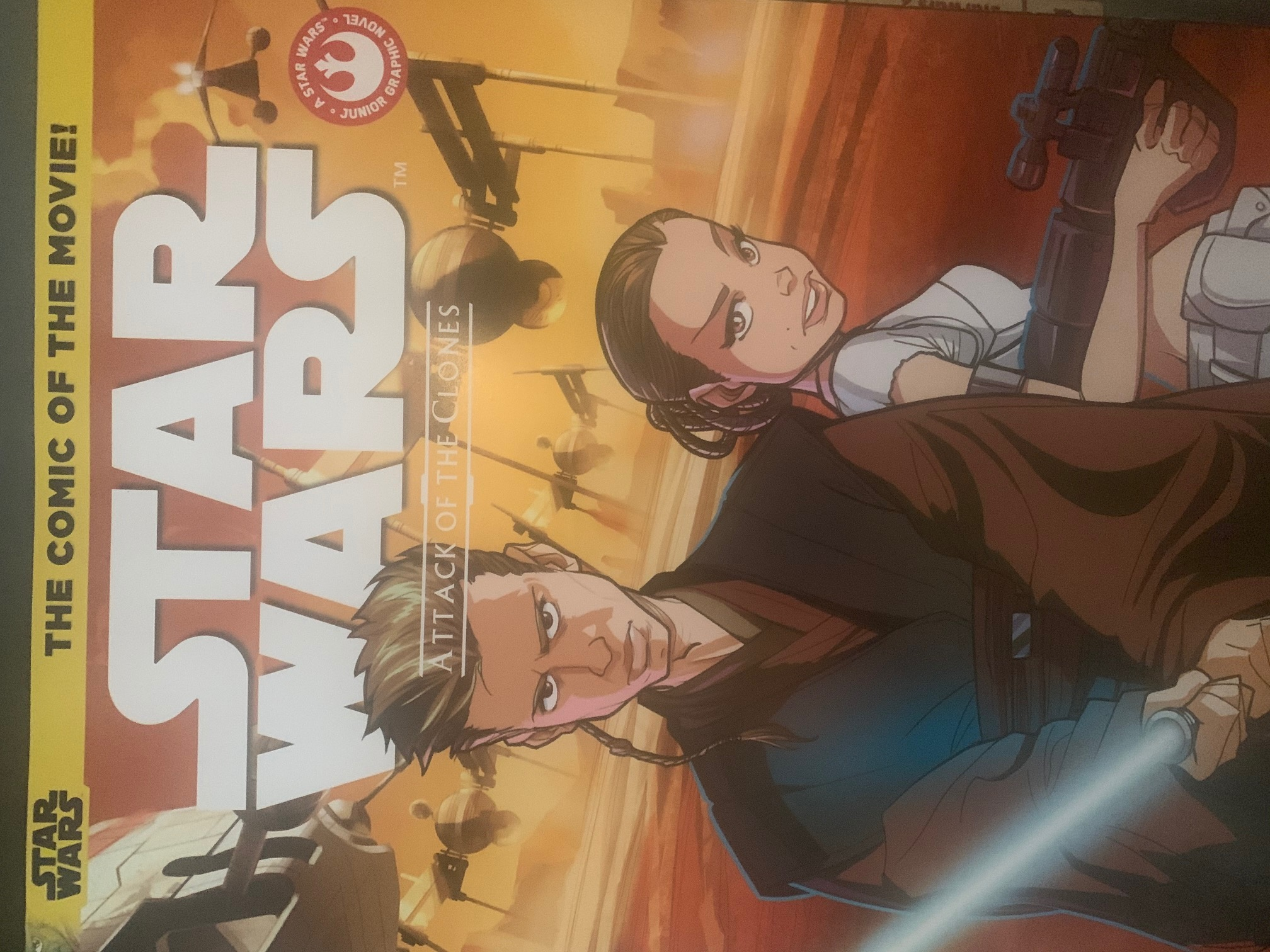 Star Wars: Attack of the Clones Junior Comic Adaptation