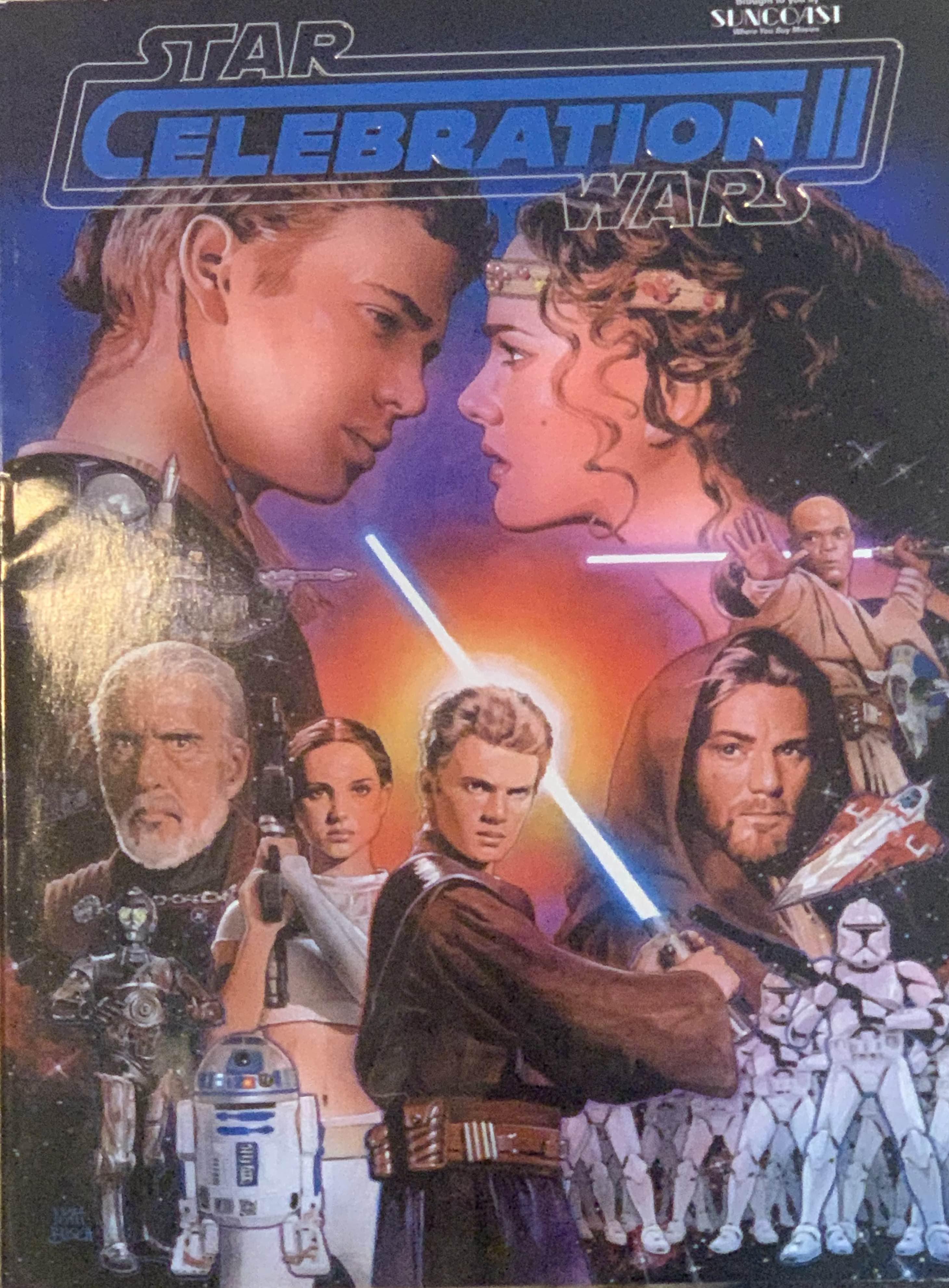 Star Wars Celebration II Souvenir Program