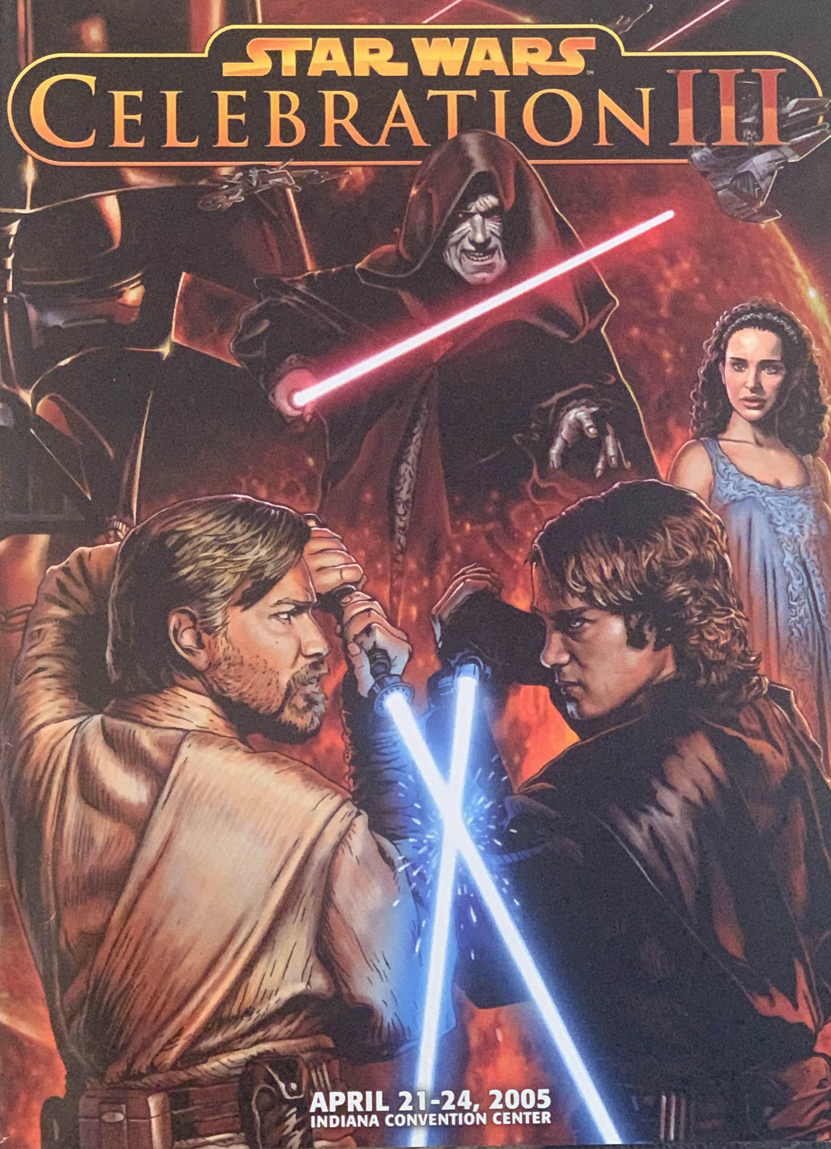 Star Wars Celebration III Souvenir Program