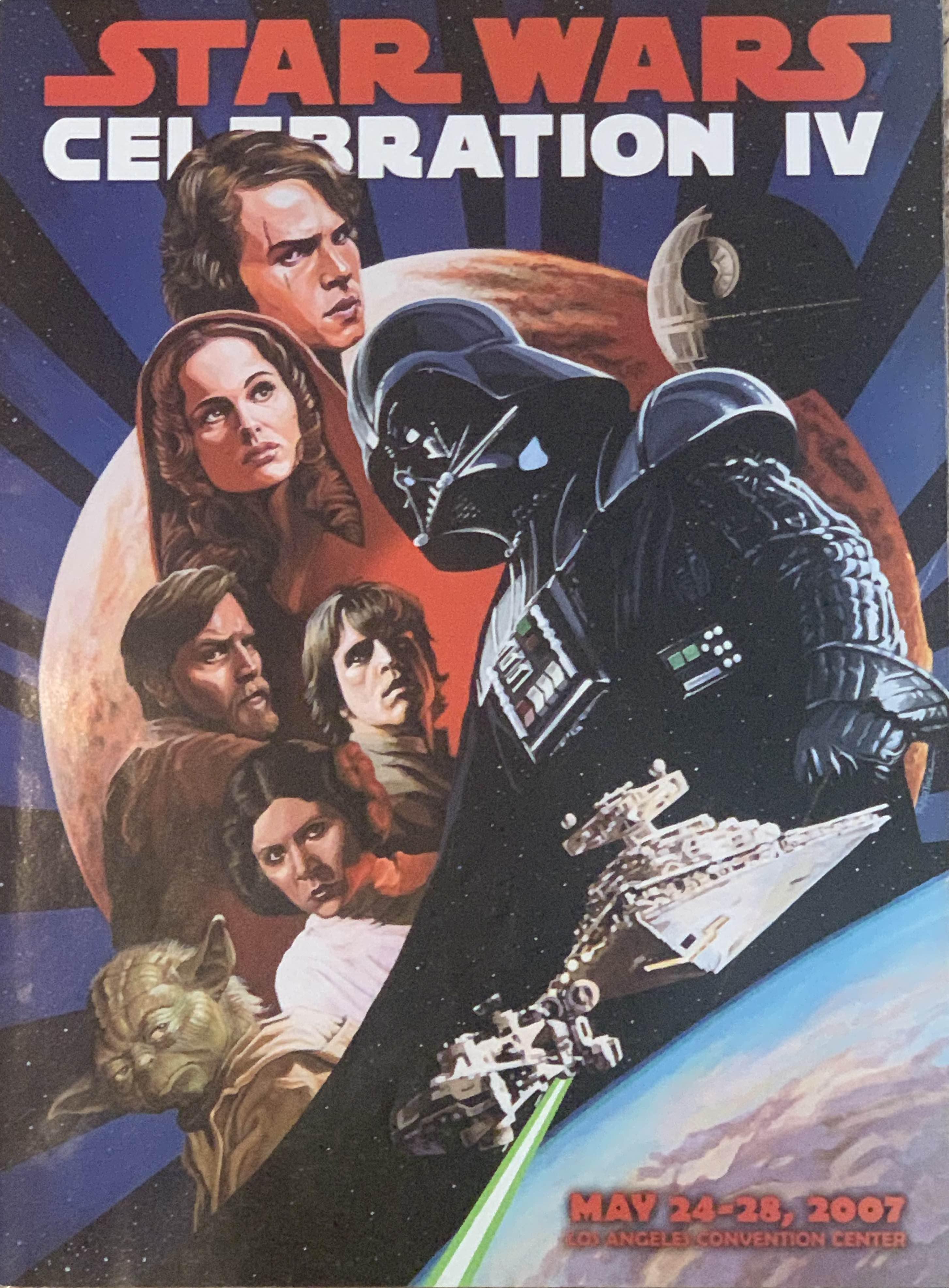Star Wars Celebration IV Souvenir Program
