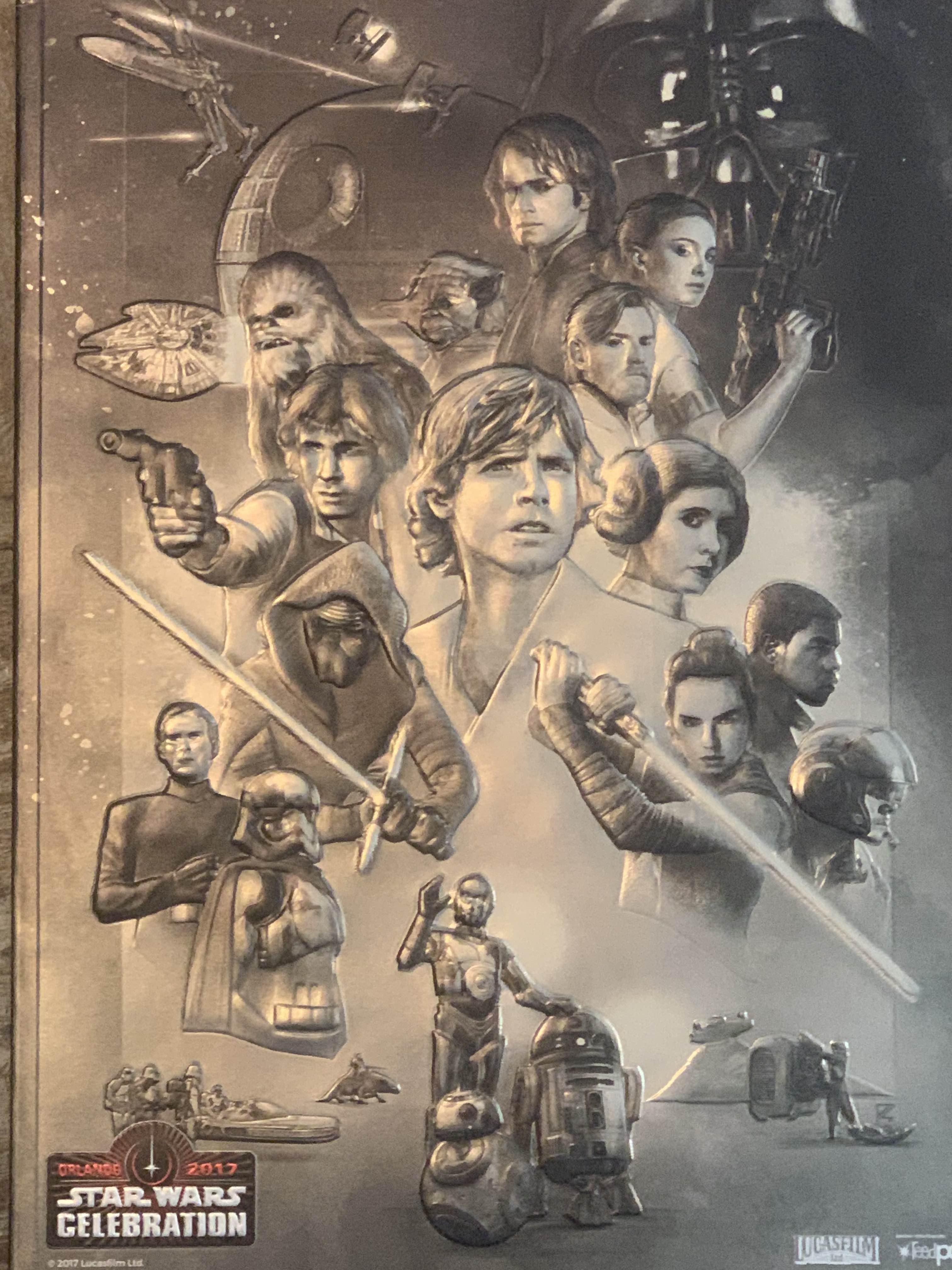 Star Wars Celebration Orlando 2017 Souvenir Program