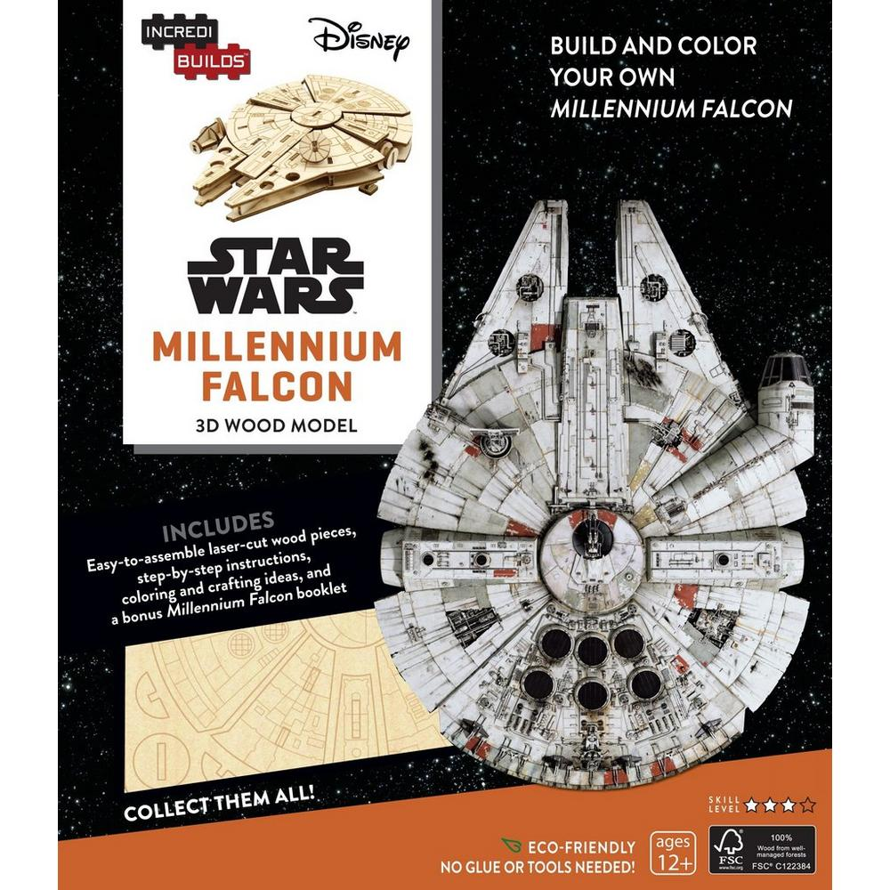 Star Wars: Build and Color Your Own Millennium Falcon