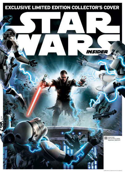 Star Wars Insider 104 - Exclusive Collector's Cover