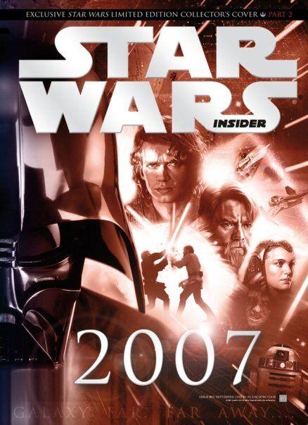 Star Wars Insider 95 - Diamond Cover