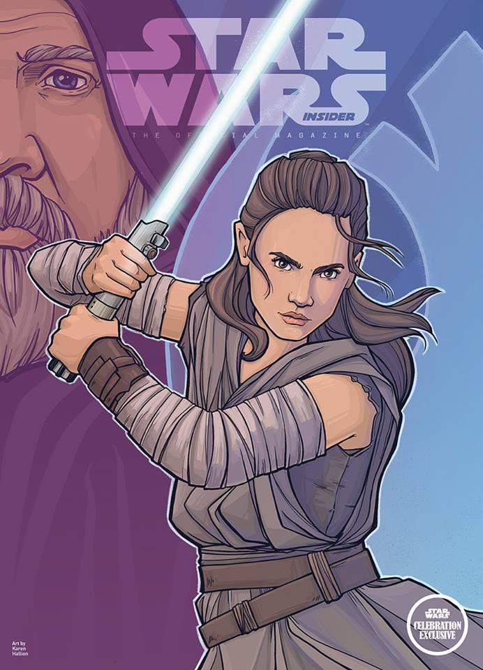 Star Wars Insider 189 - Celebration Light Side Edition
