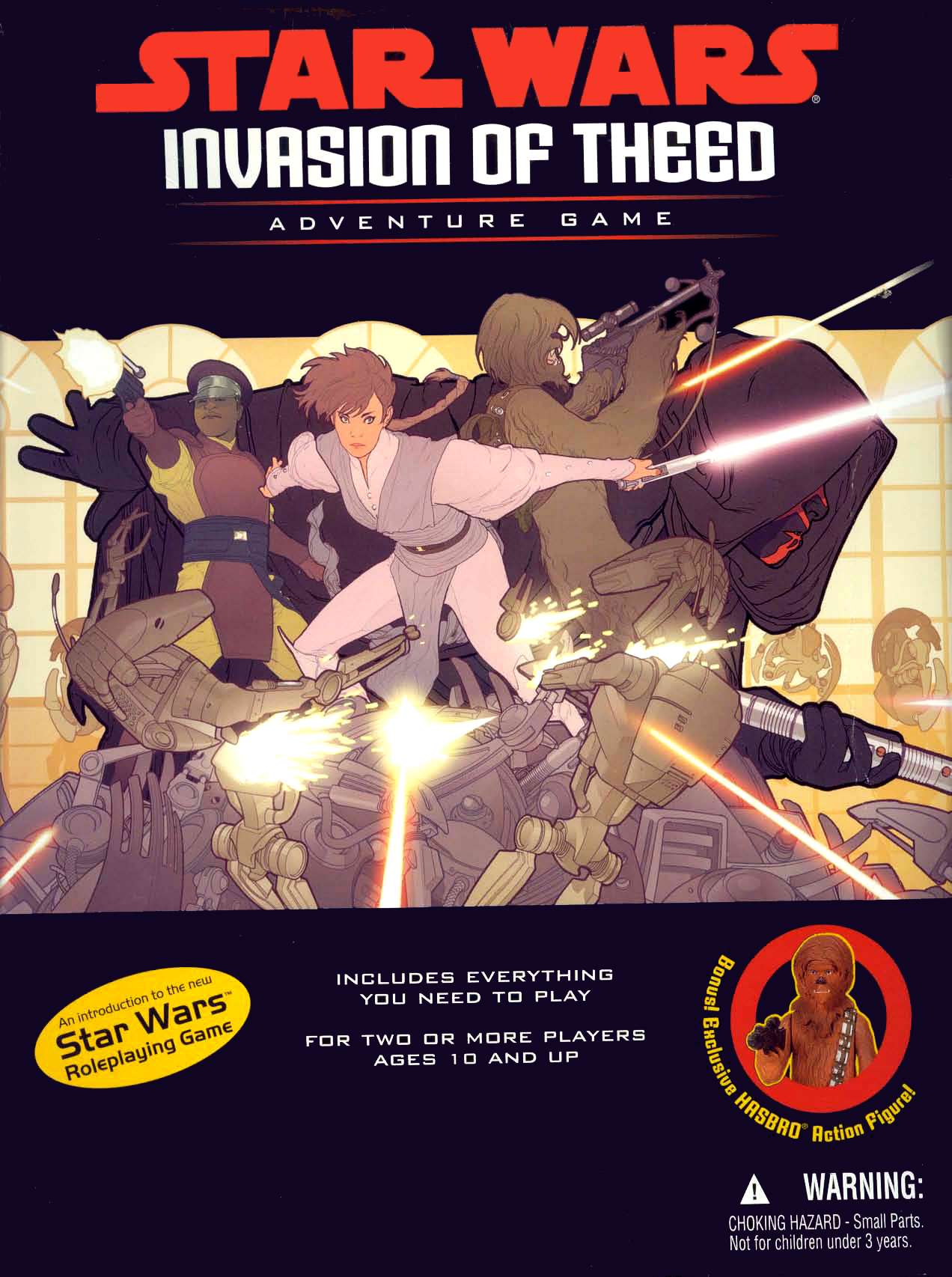 Star Wars: Invasion of Theed Adventure Game