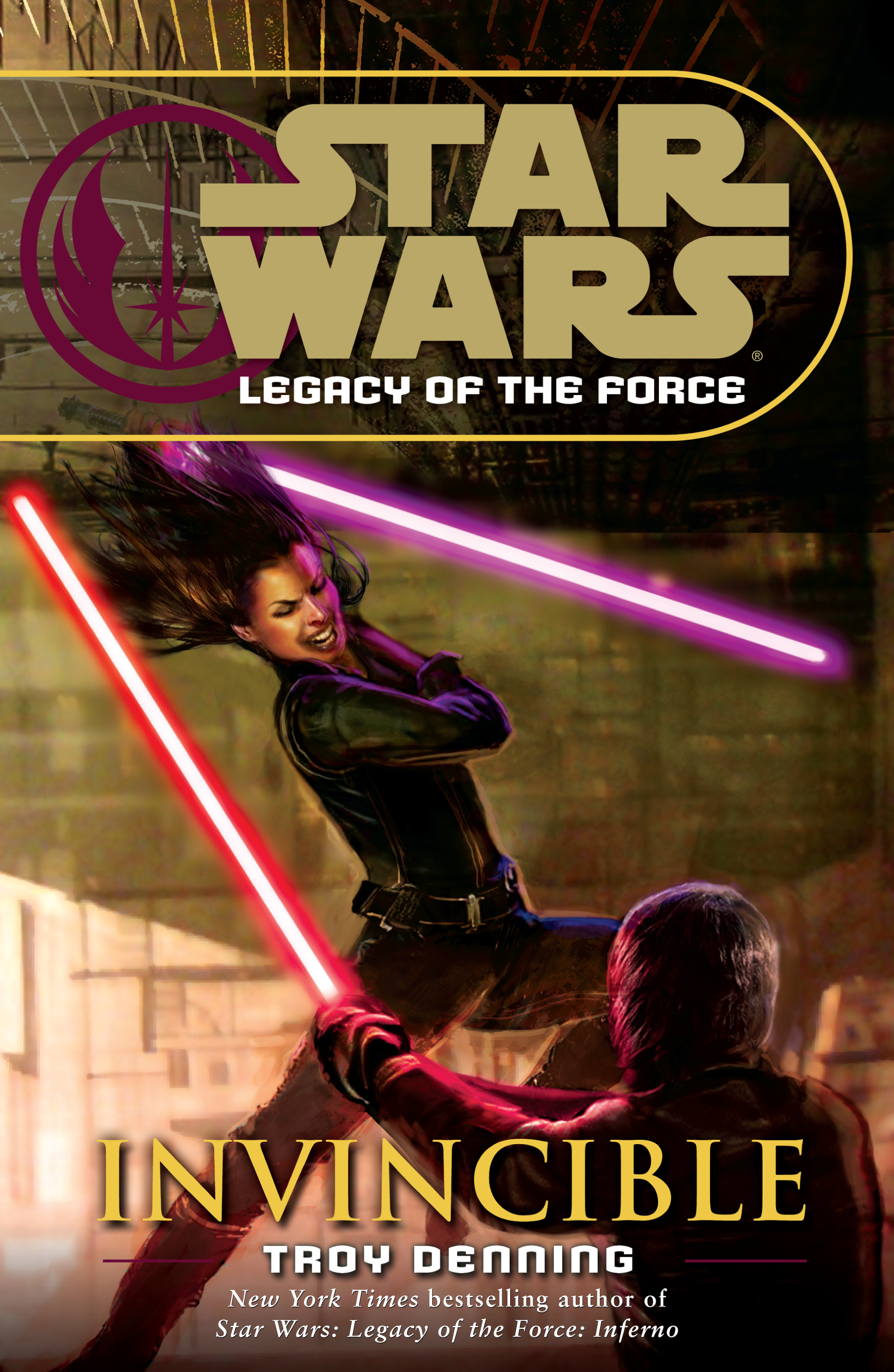 Star Wars Legacy of the Force: Invincible (paperback)