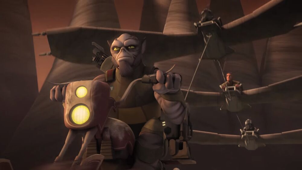 Star Wars Rebels: Jedi Night