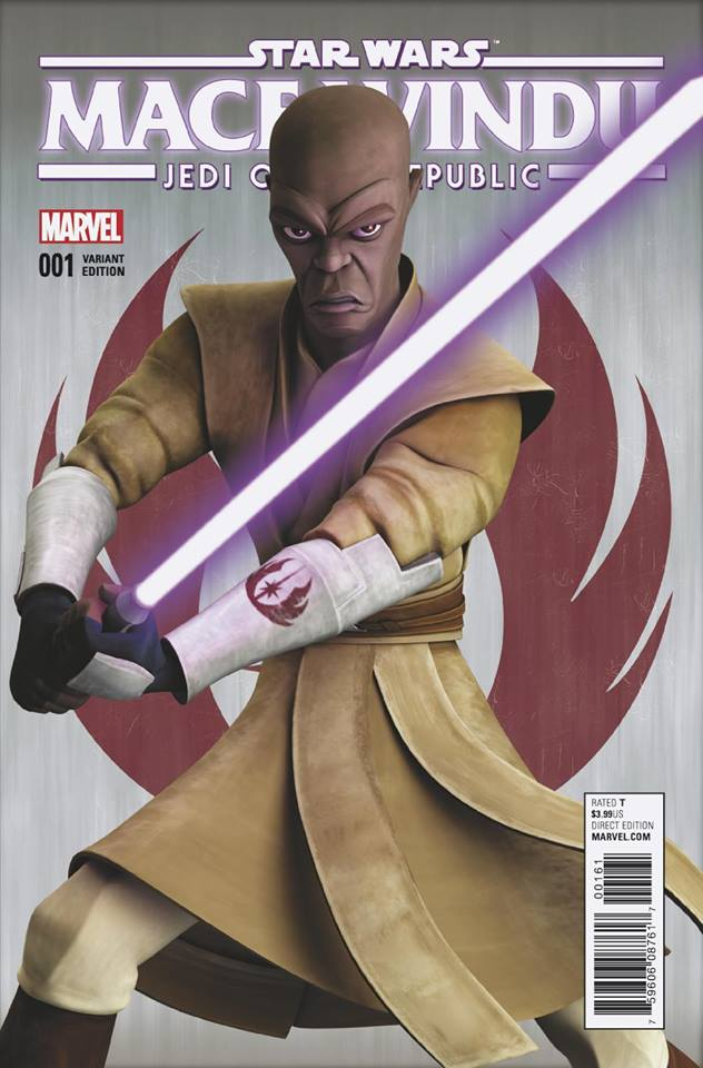 Star Wars Mace Windu - Jedi of the Republic 1 - Animation Variant