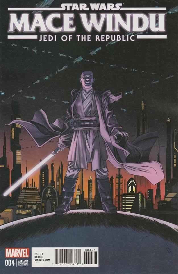 Star Wars Mace Windu - Jedi of the Republic 4 - Homage Variant (Declan Shalvey)