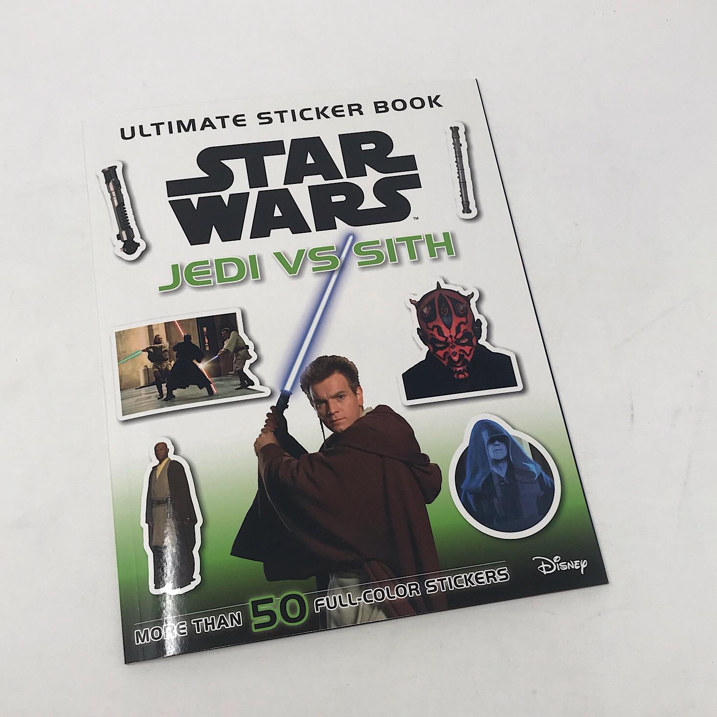 Star Wars Ultimate Sticker Book: Jedi vs. Sith