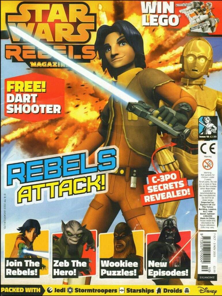 Star Wars Rebels Magazine 10 (UK)