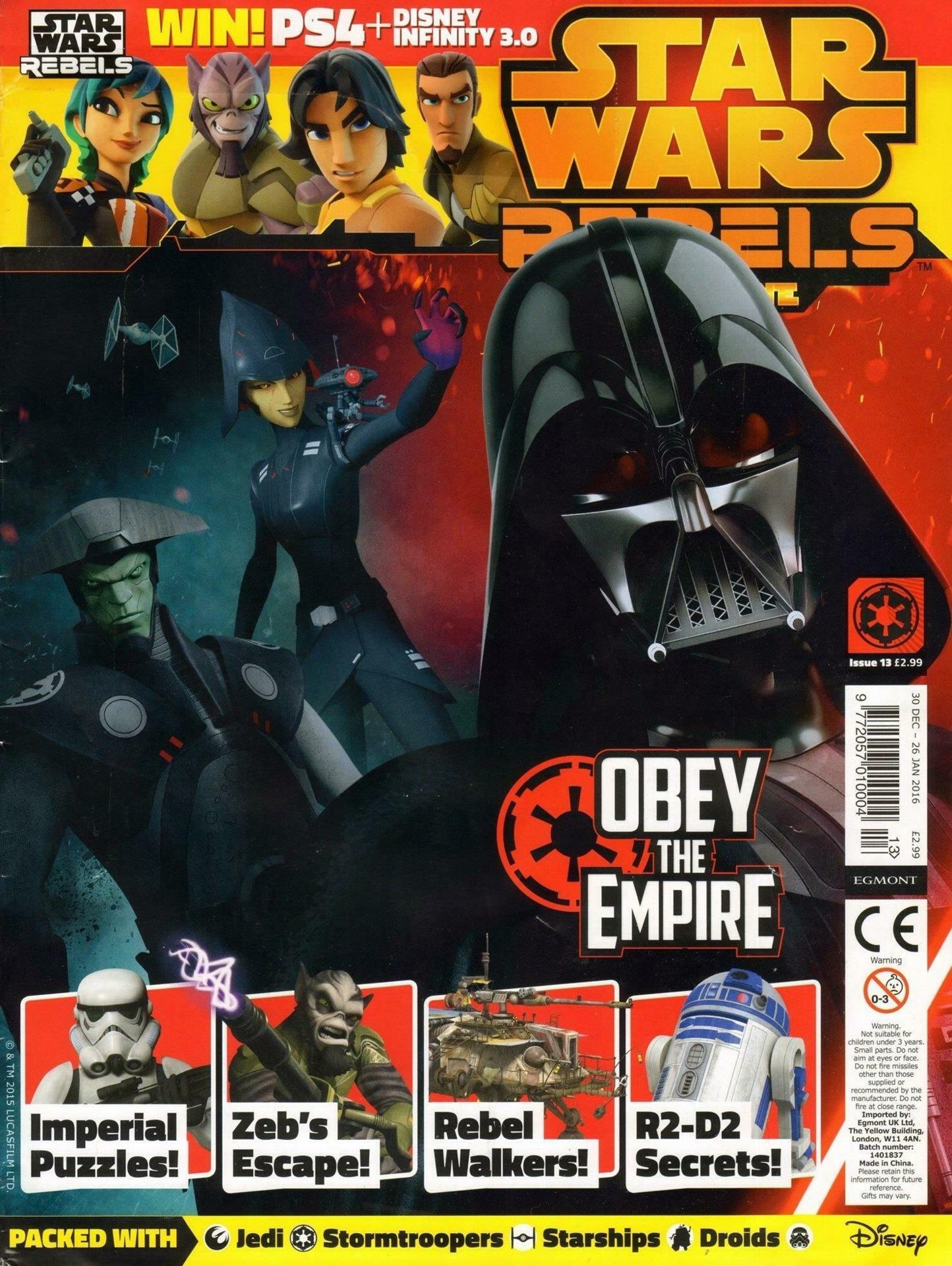 Star Wars Rebels Magazine 13