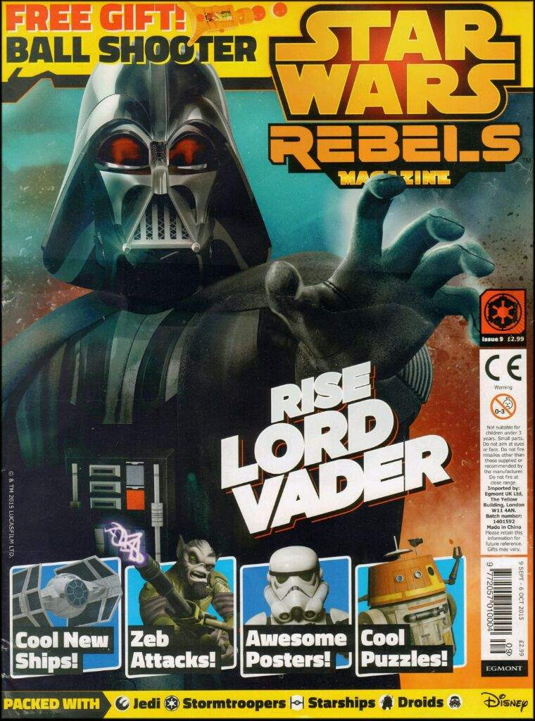 Star Wars Rebels Magazine 9