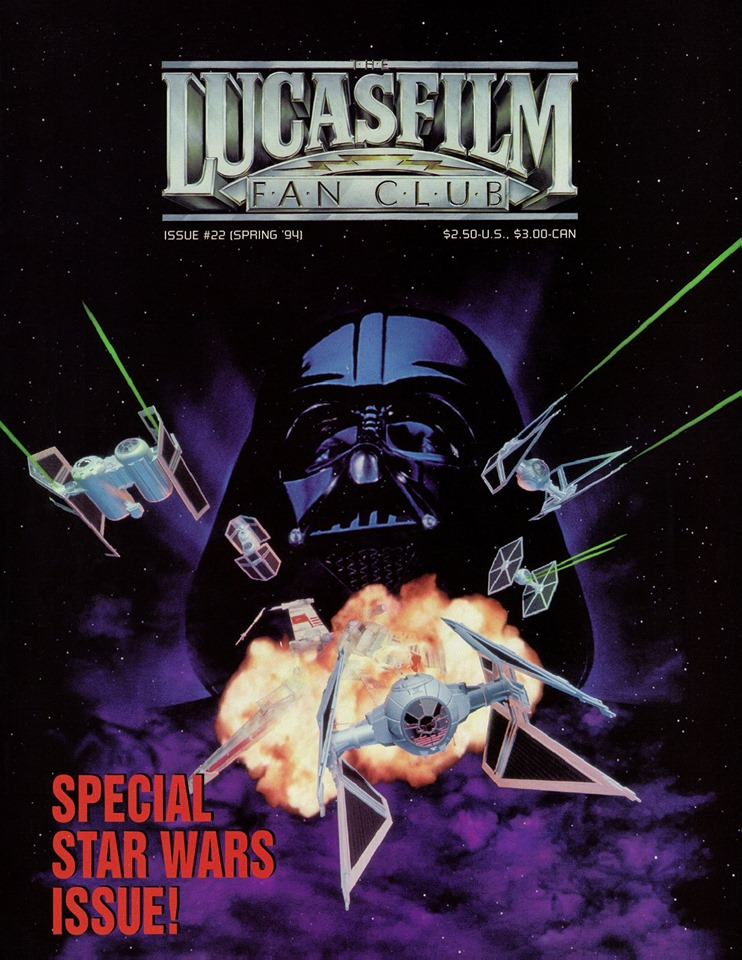 Lucasfilm Fan Club Magazine 22