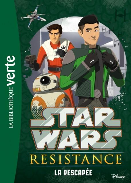 Star Wars Resistance: La Rescapee