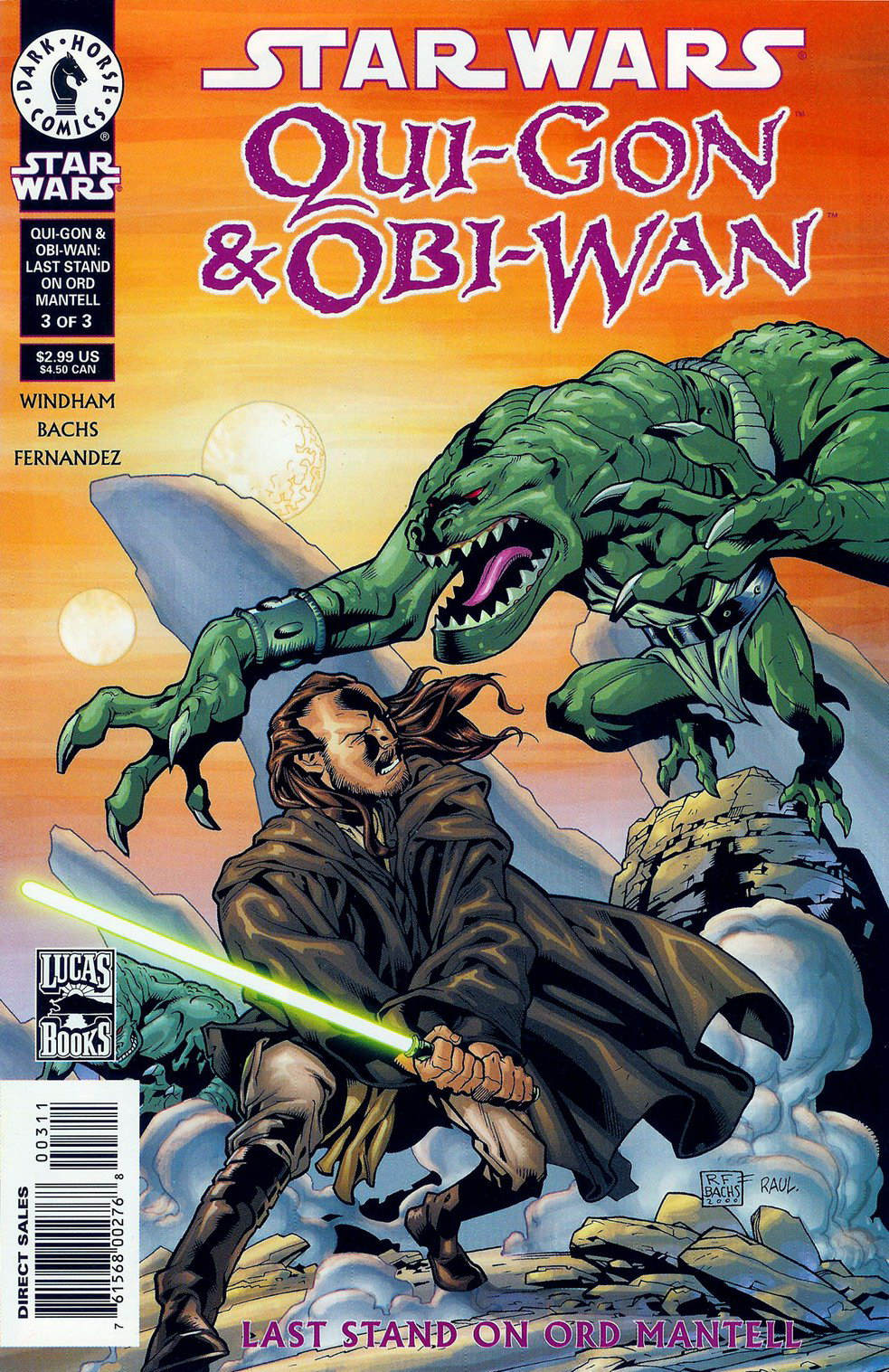 Star Wars Qui-Gon and Obi-Wan: Last Stand on Ord Mantell 3
