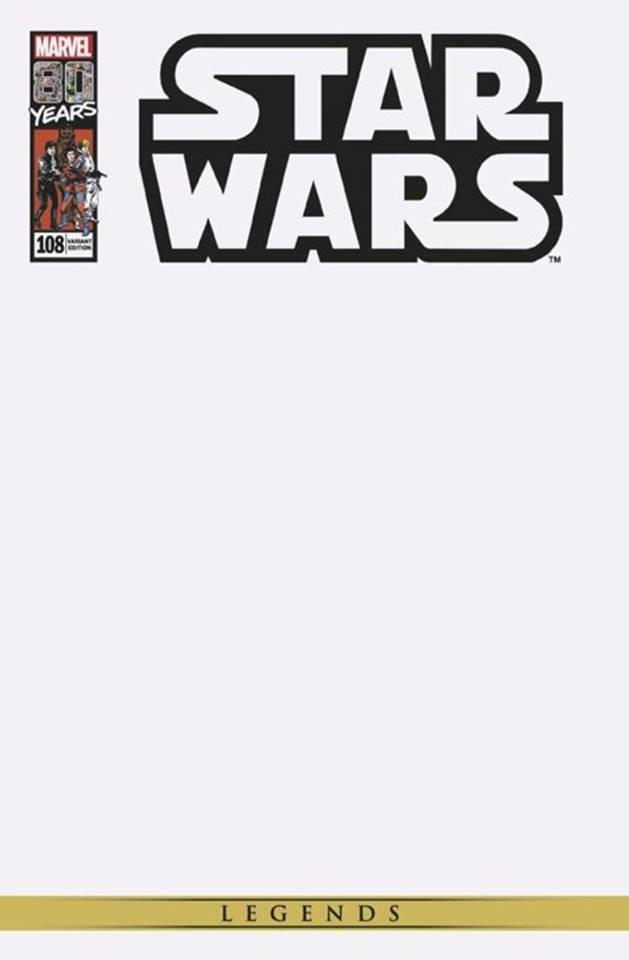 Star Wars 108 (Legends) - Blank Variant