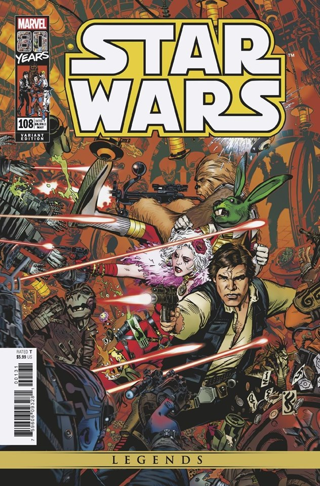 Star Wars 108 (Legends) - Michael Golden Variant
