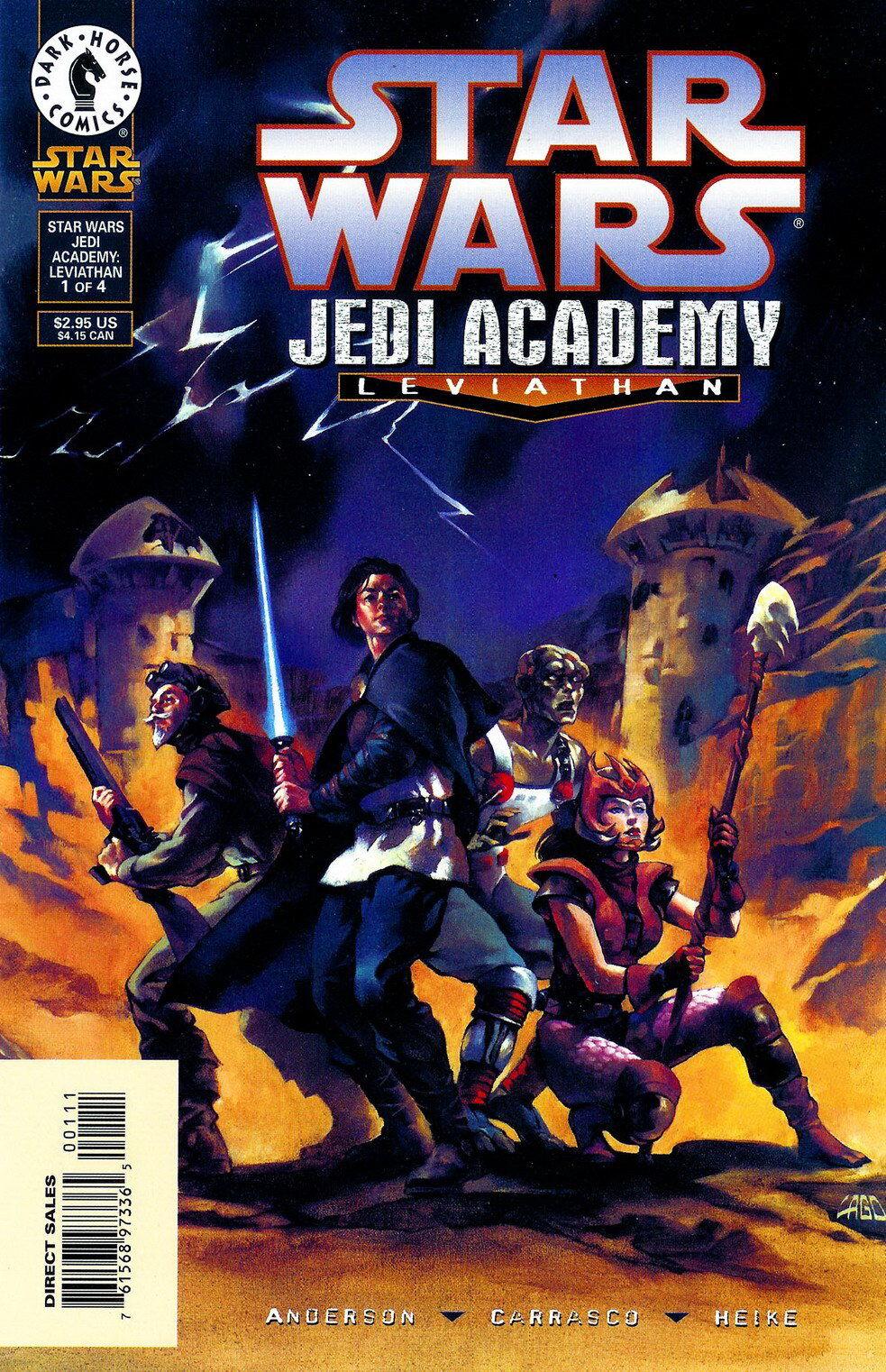 Star Wars Jedi Academy: Leviathan