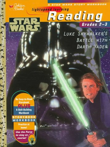 Star Wars Reading Story Workbook: Luke Skywalker's Battle With Darth Vader