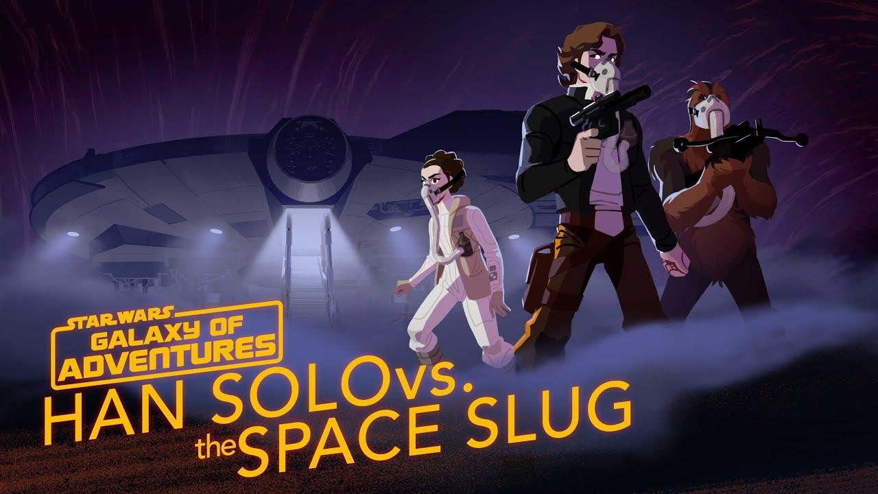 Star Wars Galaxy of Adventures: Han Solo vs. The Space Slug - The Escape Artist