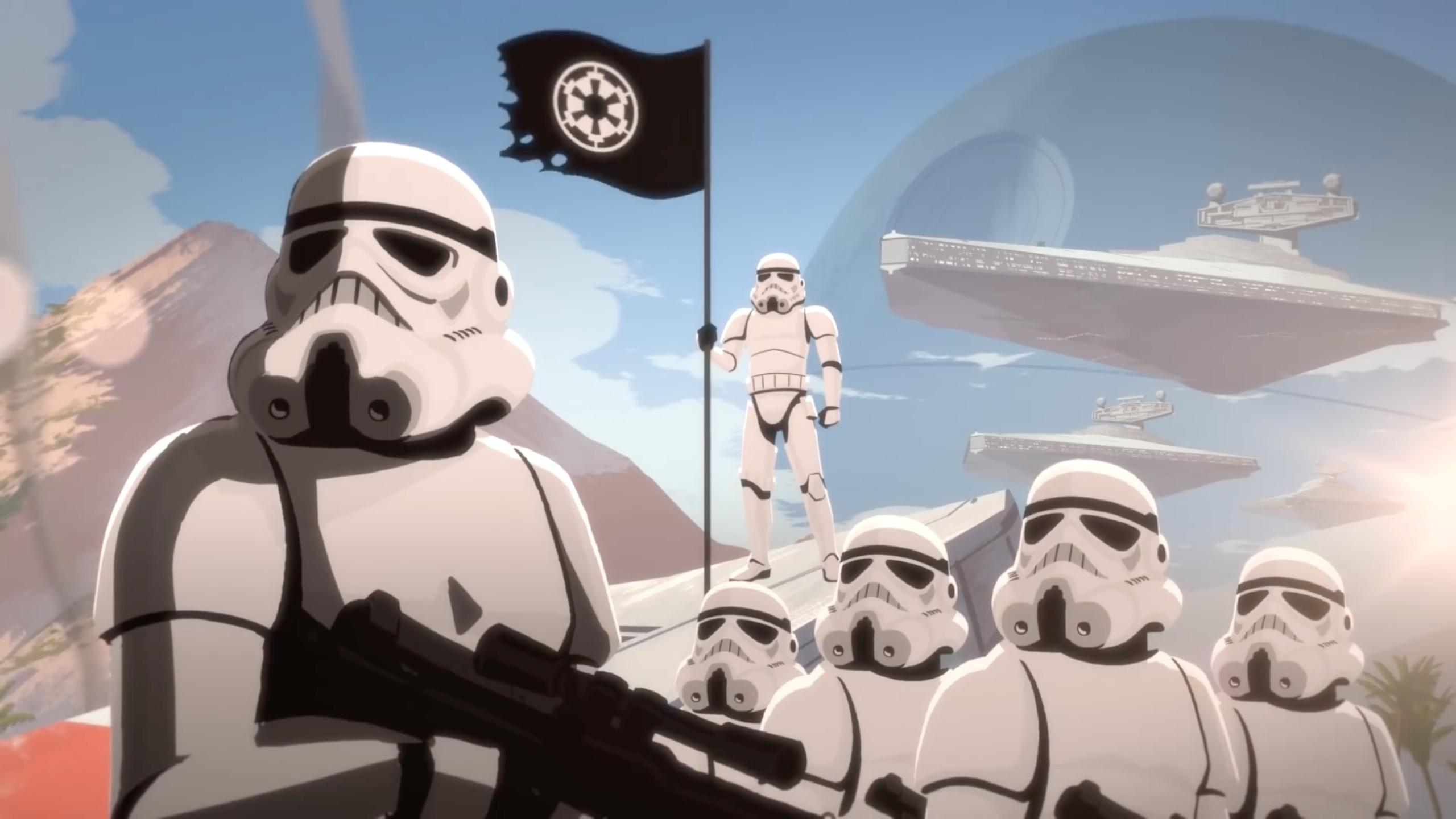 Star Wars Galaxy of Adventures: Stormtroopers vs. Rebels - Soldiers of the Galactic Empire